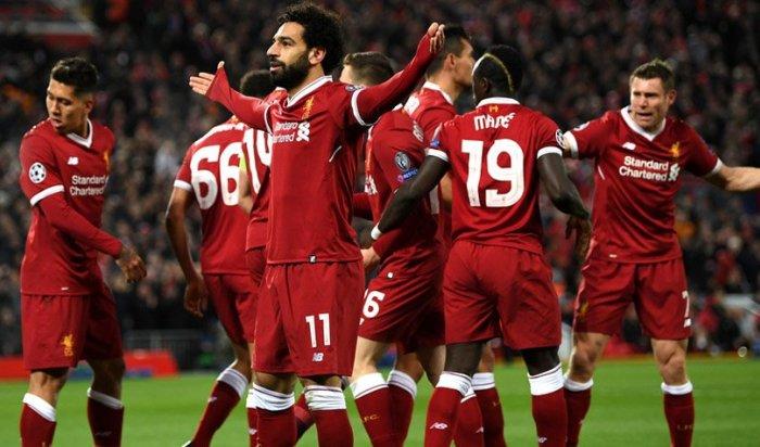 «Ливерпуль» разгромил «Манчестер Сити» в матче Лиги чемпионов