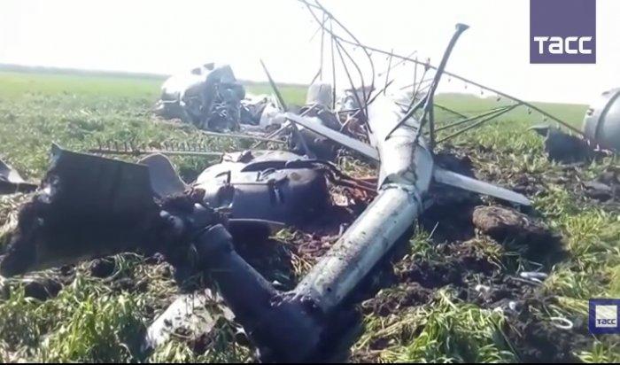 В Ставропольском крае разбился вертолет Ми-2