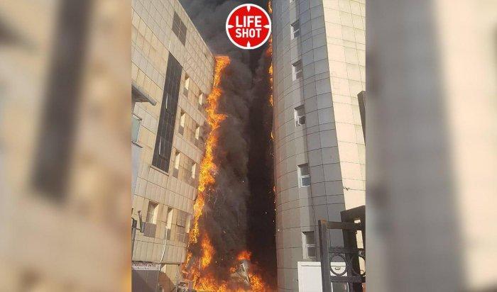 В Стамбуле горела многоэтажная больница
