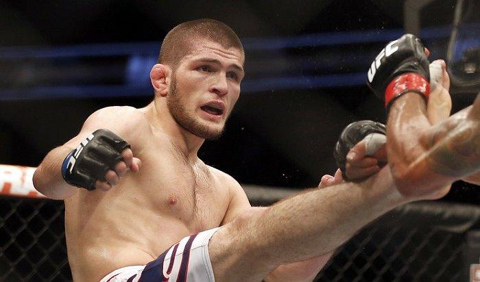 Хабиб Нурмагомедов стал первым российским чемпионом вистории UFC