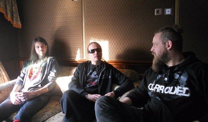 Шведскую группу Pain вИркутске фанаты встретили сводкой