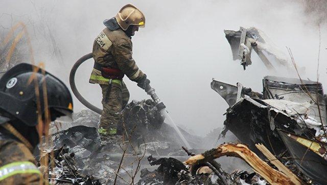 Семьям шестерых погибших при крушении Ми-8 выплатят по миллиону рублей