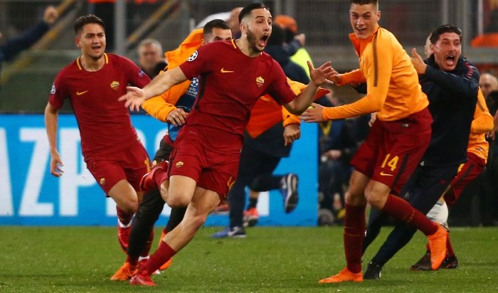 «Рома» разгромила «Барселону» и лишила ее шанса попасть в Лигу чемпионов