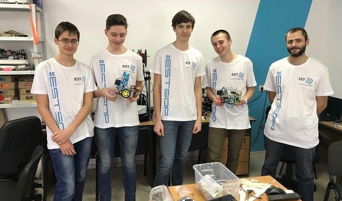 Авиакомпания «ИрАэро» помогла школьникам изИркутска принять участие вмосковском «Робофесте»