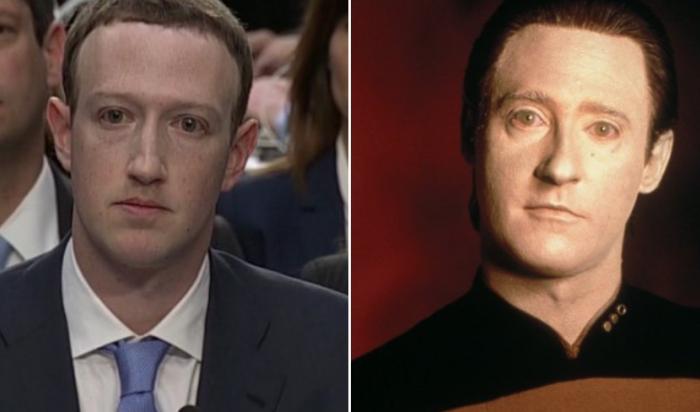 Марк Цукерберг  стал героем мемов после выступления в сенате США