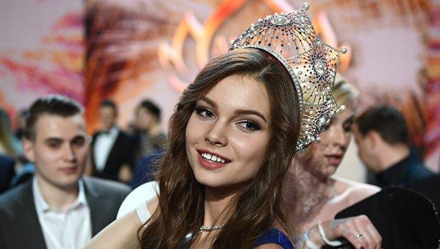 Юлия Полячихина стала победительницей конкурса «Мисс Россия»