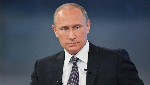 Путин сделал заявление в связи с ракетным ударом США по Сирии