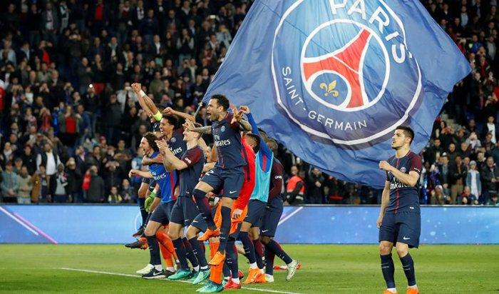 ПСЖ забил «Монако» семь мячей и стал чемпионом Франции по футболу
