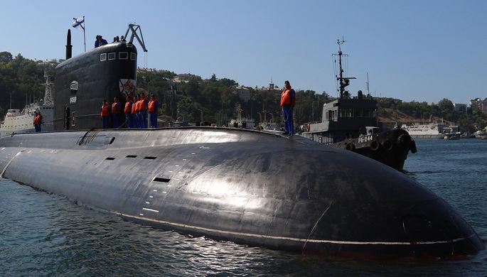 Российские моряки помешали британской подлодке обстрелять Сирию