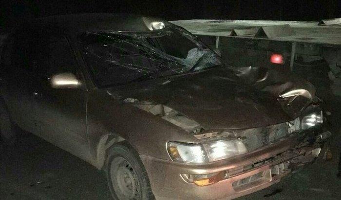 Водитель Toyota Corolla сбил насмерть пешехода рядом сАлександровским кладбищем