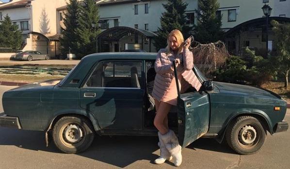 Анастасия Волочкова объявила опродаже любимых «Жигулей»