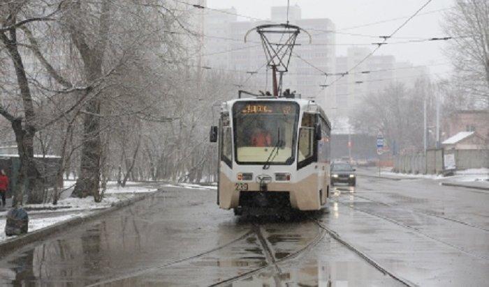Шесть трамваев изМосквы доставят вИркутск втечение месяца