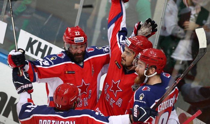 ЦСКА одержал первую победу в финальной серии Кубка Гагарина