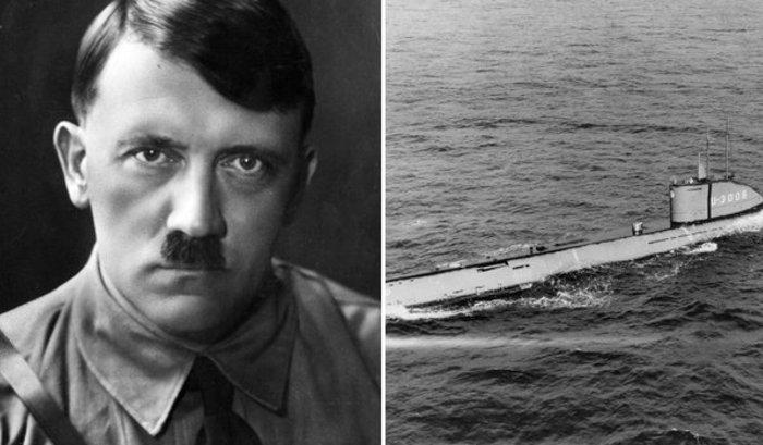 «Подлодка Гитлера» найдена у берегов Дании