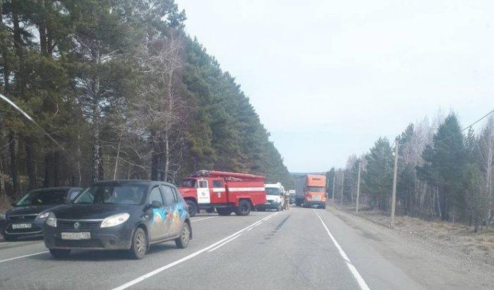 Наавтодороге Р-258 «Байкал» вДТП сминивэном погибли два человека