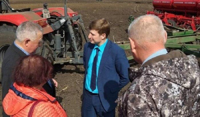 Посевная кампания началась вИркутской области