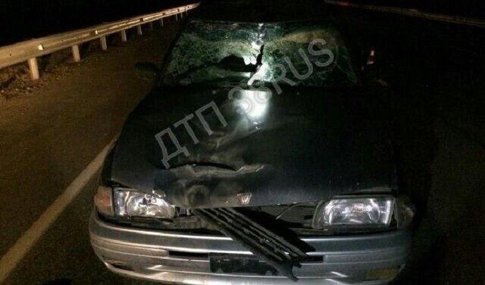 ВШелеховском районе водитель Nissan сбил насмерть женщину-пешехода