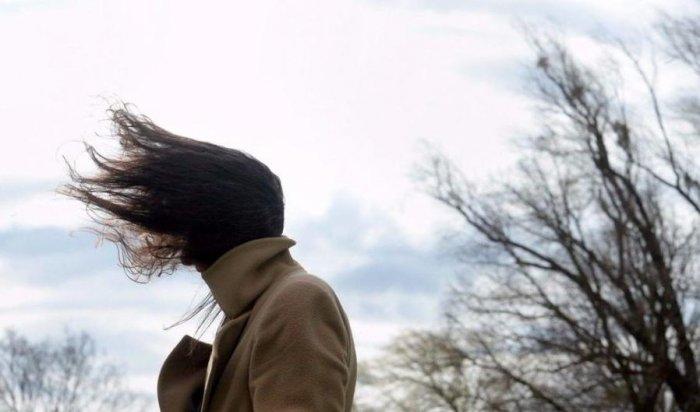 26 апреля в Приангарье ожидается усиление ветра