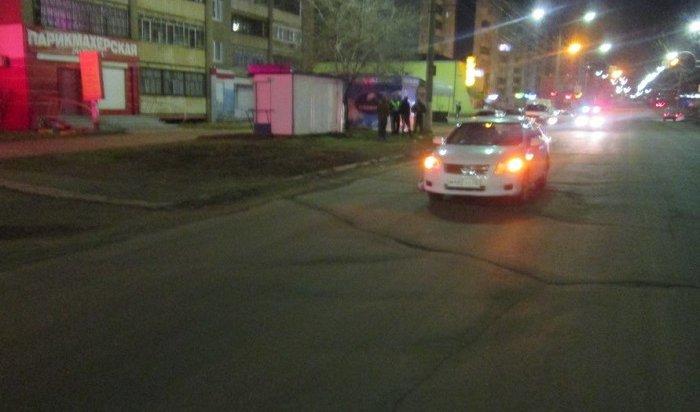 ВБратске водитель Toyota ночью сбил насмерть женщину-пешехода