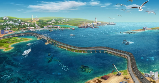 В Севастополе предложили Киеву нарисовать сертификат на Крымский мост в Photoshop