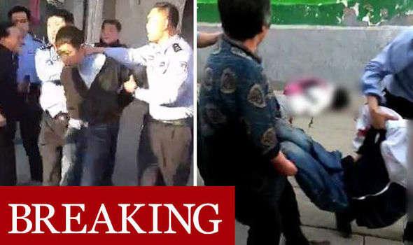 В Китае неизвестный зарезал семерых школьников