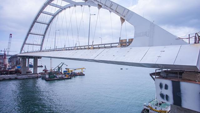 Депутат Рады предложил забрать уРоссии Крымский мост