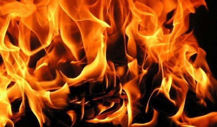ВИркутске натерритории лесоперерабатывающего предприятия тушили крупный пожар 2мая