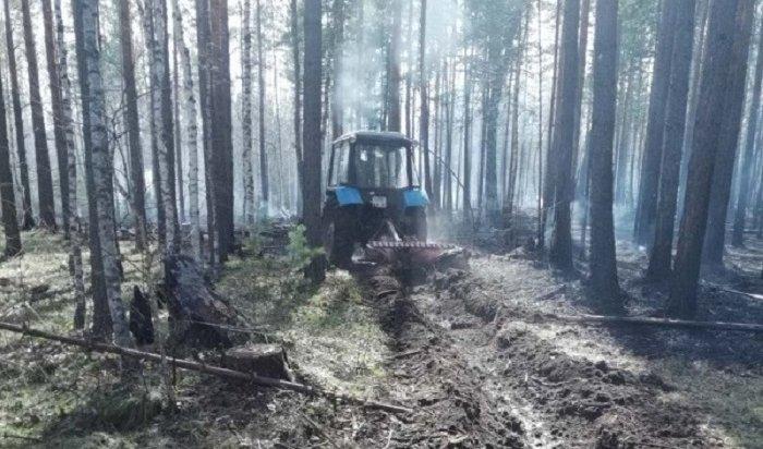 Под Иркутском пожарные спасли отлесного пожара садоводство «Илга»