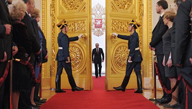 СМИ сообщили овозможной отмене проезда Путина поМоскве вдень инаугурации