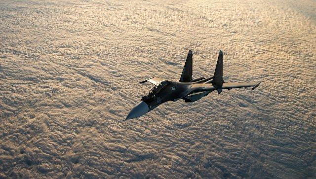 В Сирии разбился истребитель Су-30СМ