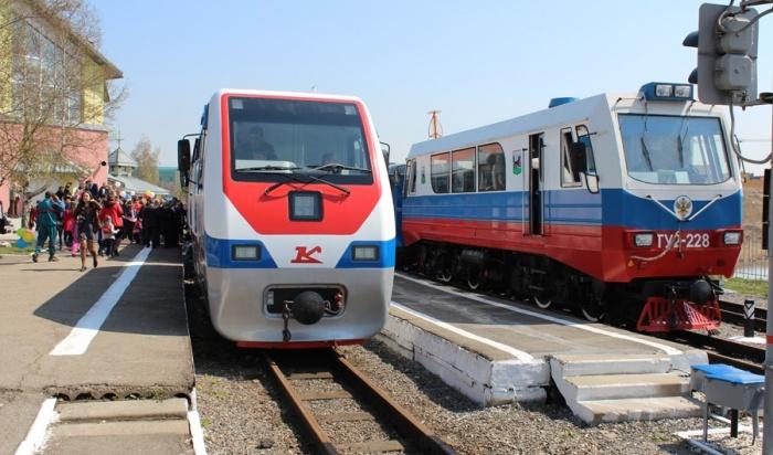 Детская железная дорога откроется вИркутске вДень Победы