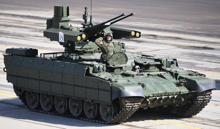 Минобороны показало боевые возможности «Терминатора»