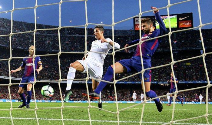 «Реал» сыграл с«Барселоной» вничью вматче чемпионата Испании