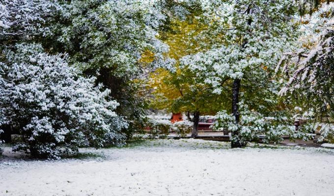 8 мая в Приангарье ожидается сильный ветер и мокрый снег