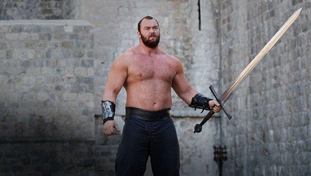 Актер из «Игры престолов» признан самым сильным человеком мира