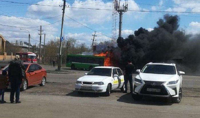 Комиссия ЛиАЗа детально рассмотрит обстоятельства пожара вавтобусе №28р вИркутске-2