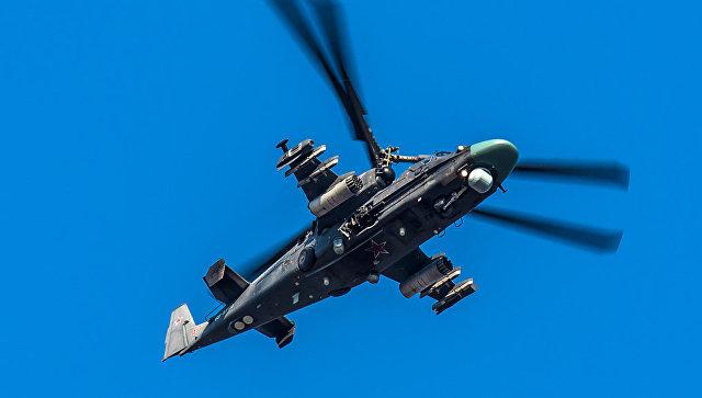 Российский вертолет Ка-52 разбился в Сирии