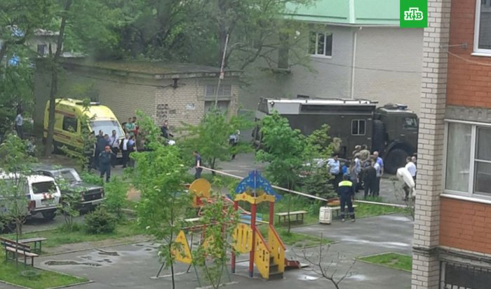 В Ставрополе в подъезде жилого дома мужчина подорвал гранату