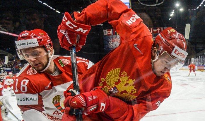 Сборная России по хоккею разгромила команду Белоруссии со счетом 6:0