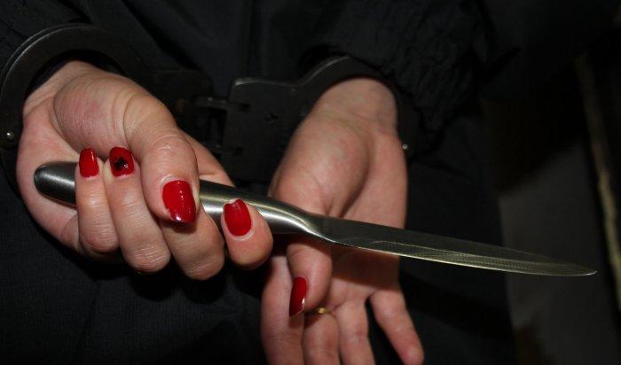 В Братском районе осудили женщину, зарезавшую сожителя