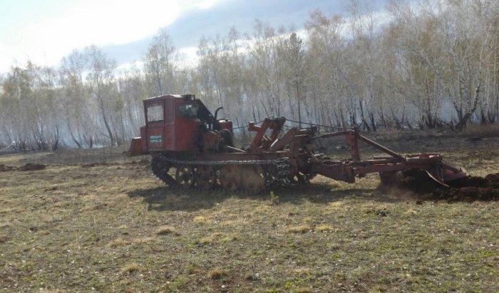 ВПриангарье ликвидировали шесть лесных пожаров 9мая