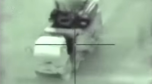 Израиль показал видео уничтожения ЗРПК «Панцирь-С1» вСирии
