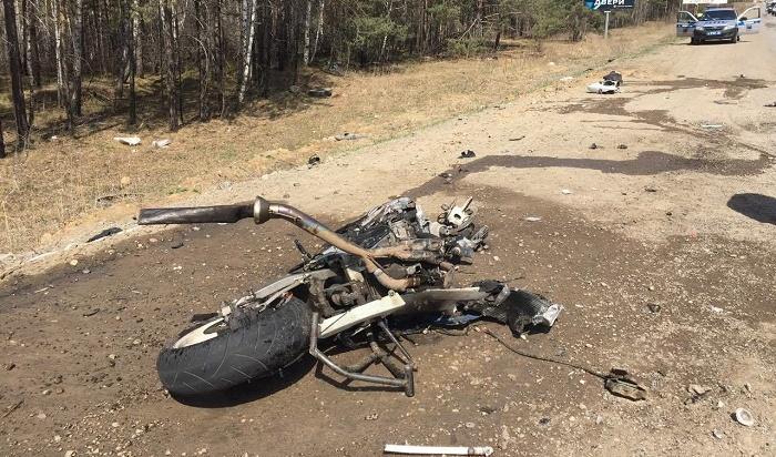 Пять мотоциклистов погибли вИркутской области вапреле