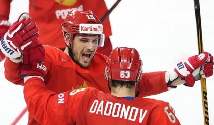Хоккеисты сборной России досрочно вышли вчетвертьфинал чемпионата мира