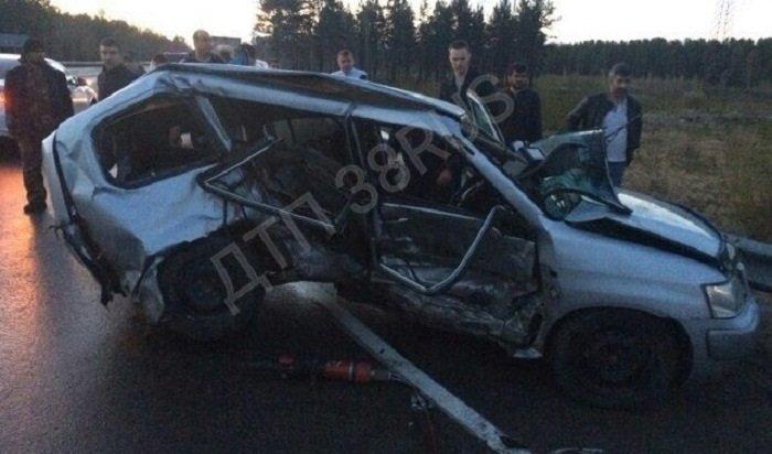 ВШелеховском районе вДТП серьезно пострадали три человека, втом числе 4-летний ребенок