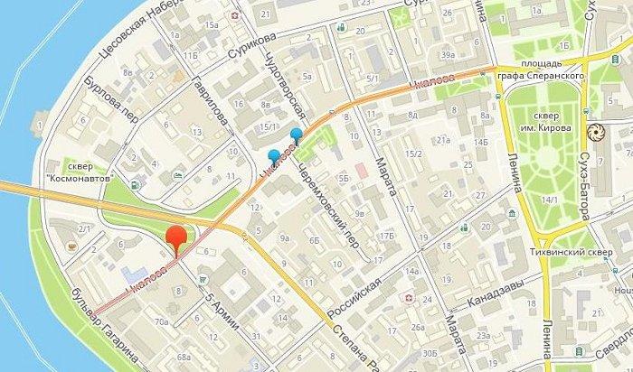 Движение транспорта ограничат наулице Чкалова с16по18мая