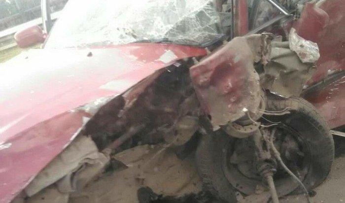 Пять человек пострадали при столкновении двух «Тойот» вАнгарске