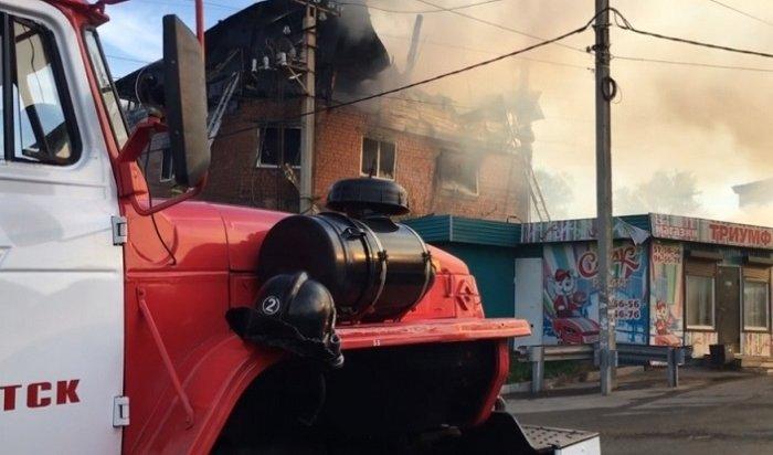 Владелец нелегальной гостиницы наулице Радищева вИркутске погиб напожаре 18мая (Видео)