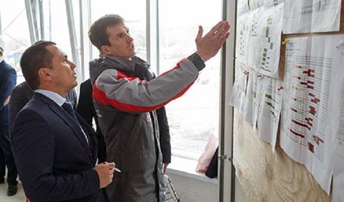 Строительство школы №19 вИркутске идет сопережением графика