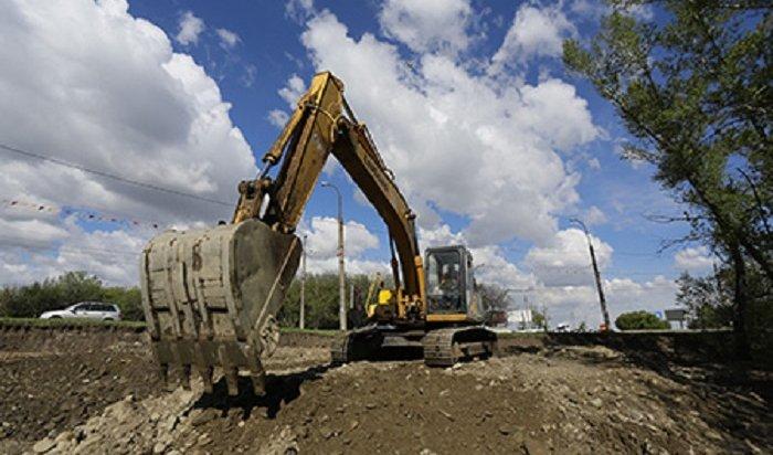 ВИркутске начался второй этап реконструкции Маратовской развязки